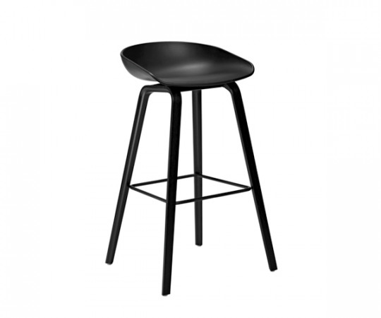 HAY About a Stool (AAS 32) Sort/Sort H:75cm