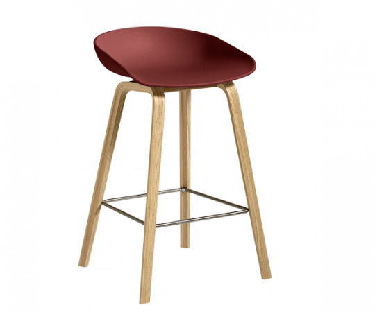 HAY About A Stool AAS 32 brick red