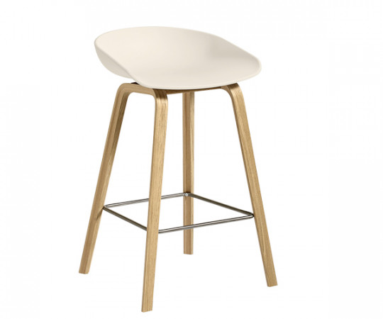HAY About A Stool AAS 32 creme hvid