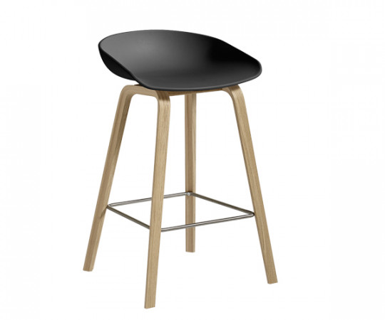 HAY About A Stool AAS 32 soft black