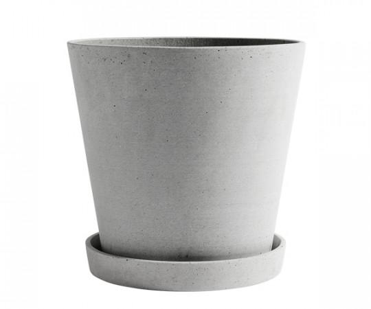 HAY Flowerpot urtepotteskjuler XXXL grå