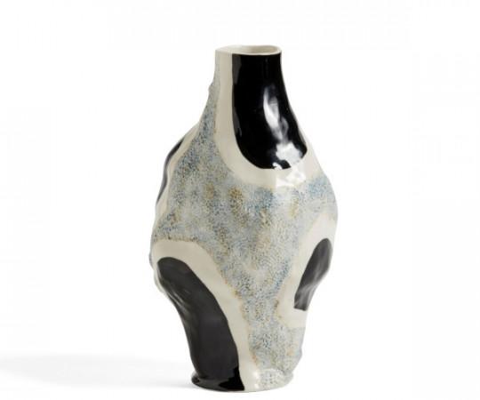hay glossy cow vase