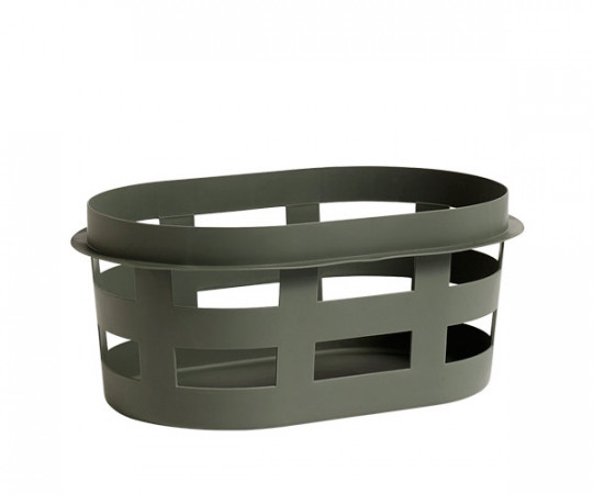 HAY Laundry Basket Army Green - Small