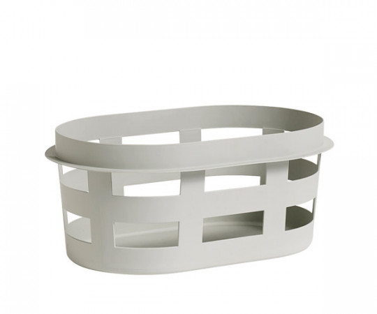 HAY Laundry Basket Lys Grå - Small