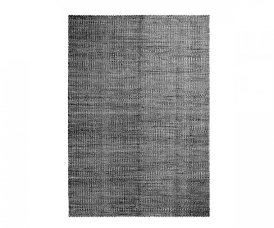 Hay Moire Kelim Tæppe - 170x240 - Sort