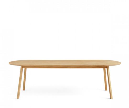 Hay Triangle Leg Table 250x85 cm. spisebord