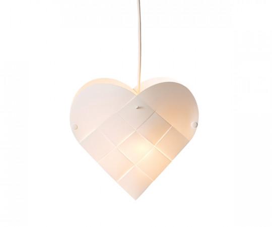 Le Klint Heart - X-Small - Hvid Ledning