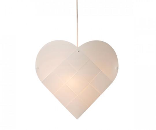 Le Klint Heart - Small - Hvid Ledning