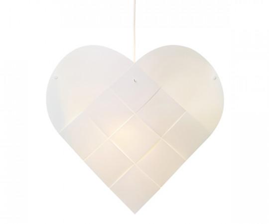 Le Klint Heart - X-Large - Hvid Ledning