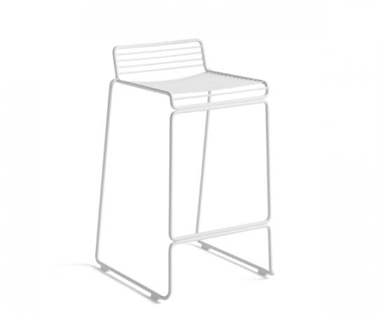 HAY Hee Bar Stol (Lav) - Hvid