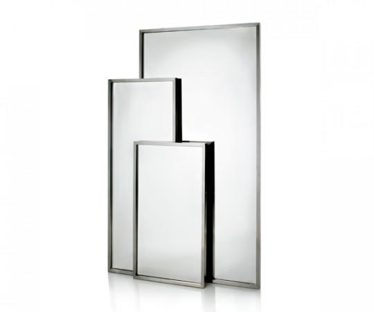 Heine Design Spejl - Lillebror - 100x100 cm.