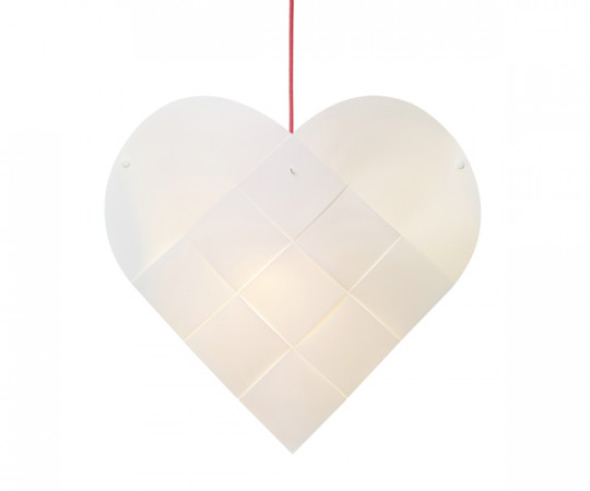 Le Klint Heart - Medium - Rød Ledning