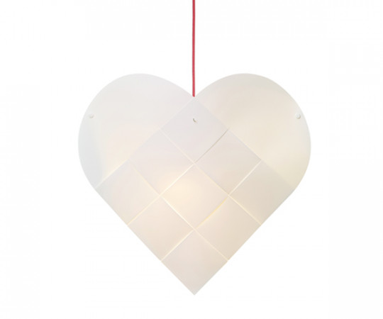 Le Klint Heart - Small - Rød Ledning