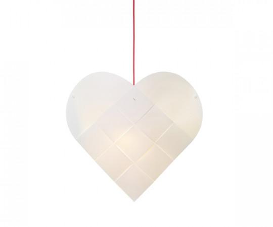 Le Klint Heart - X-Small - Rød Ledning