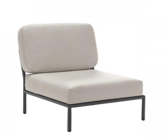 HOUE Level lounge - midtermodul - graumel chalk