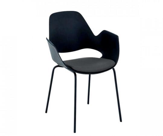 HOUE Falk Chair - Carbon Grey - Dark Grey Seat