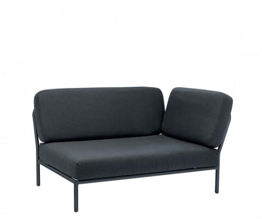 HOUE Level lounge - hjørnemodul - højre vendt - sooty grey