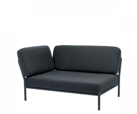 HOUE Level lounge - hjørnemodul - venstre vendt - sooty grey
