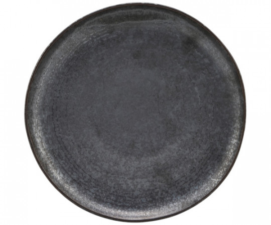 house doctor pion frokosttallerken sort brun
