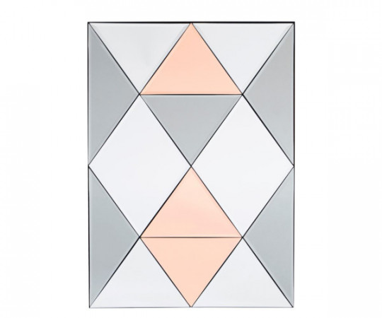 house doctor rhomb spejl