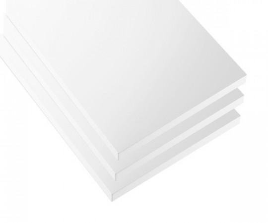 String reol hylder 78x20 - 3Pack - Hvid
