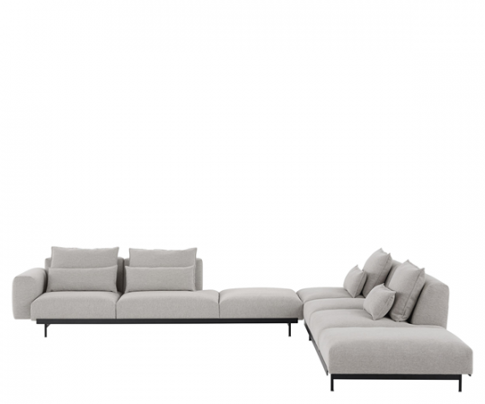 Muuto In Situ Hjørnesofa - Configuration 8 - Clay 12