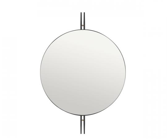 Gubi IOI Spejl - Ø80cm - Sort
