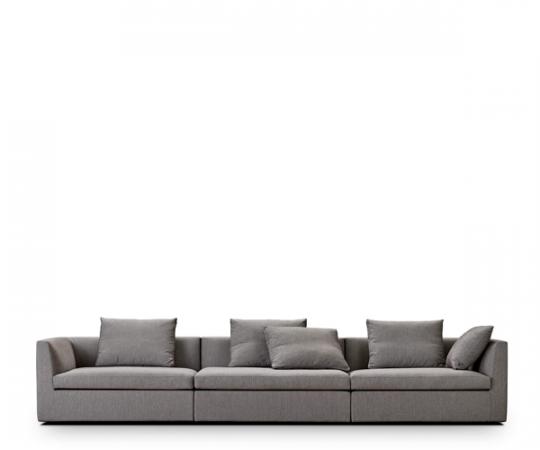 Juul 104 Sofa - 360cm. - Stone Stof