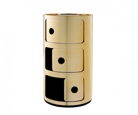 Kartell Componibili - 3 Rum - Guld
