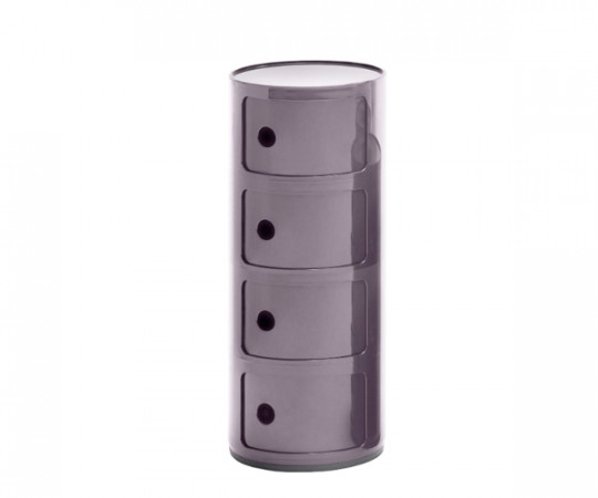 Kartell Componibili violet 4 rum nyhed