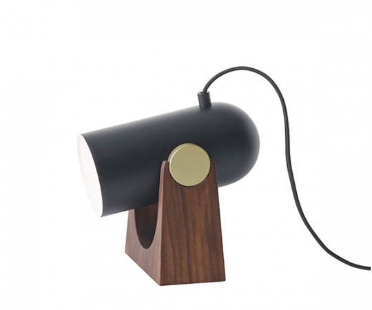 Le Klint Carronade Bordlampe & Væglampe - sort