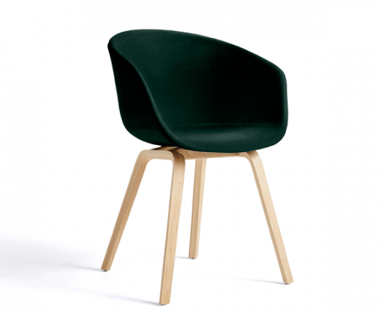 Hay About a chair (AAC23) Lola Velour - Dark Green