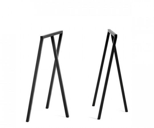 HAY Loop Stand Frame High - Sæt - Sort