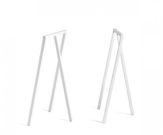 HAY Loop Stand Frame High - Sæt - Hvid