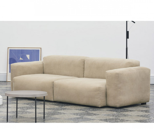 HAY Mags Soft Sofa - Low Arm - 2.5P. - Linara Stof