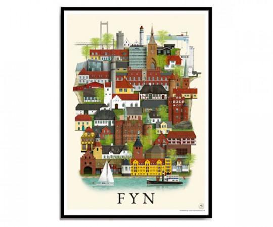 Martin Schwartz Fyn 50x70cm Poster