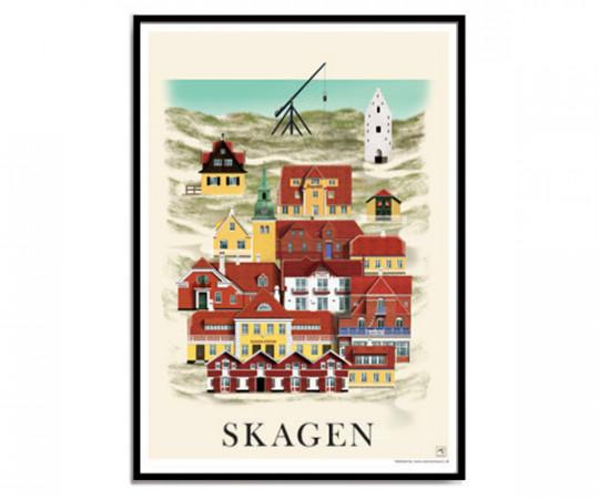 Martin Schwartz Skagen 50x70cm Poster
