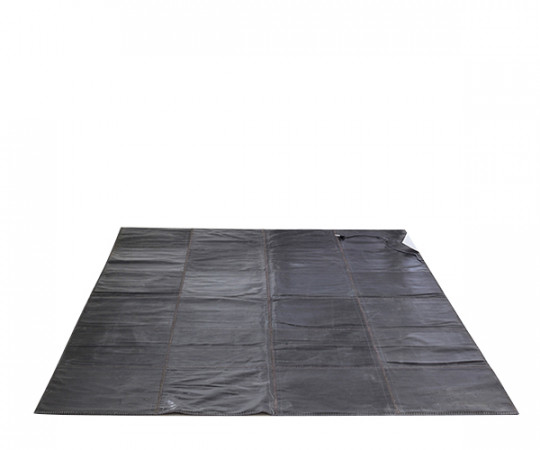 massimo leather rug læder tæppe