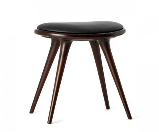 Mater barstol mørk bøg - H: 47cm