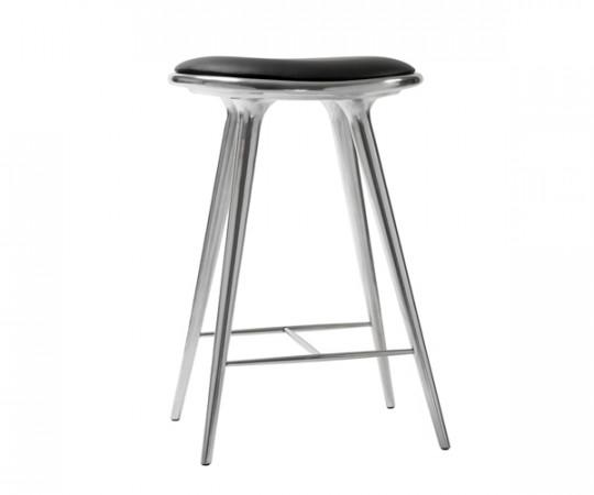 Mater barstol recycled aluminium - H: 69cm