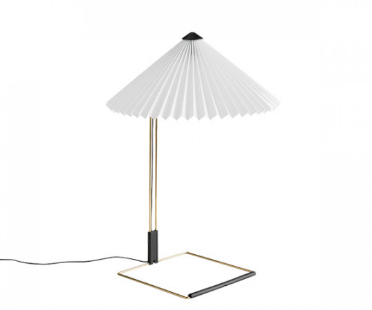 HAY Matin Bordlampe - Large - Hvid