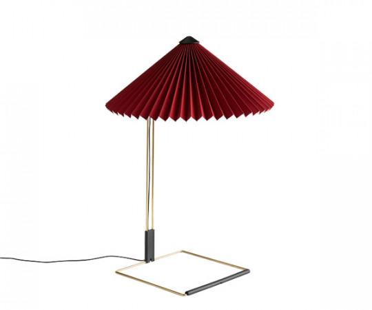 HAY Matin Bordlampe - Large - Oxide Rød
