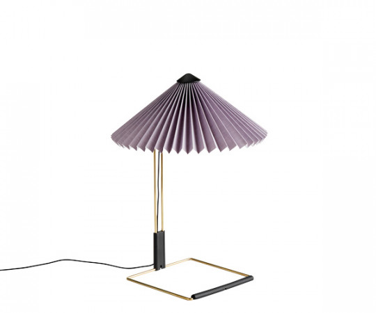 HAY Matin Bordlampe - Small - Lavendel