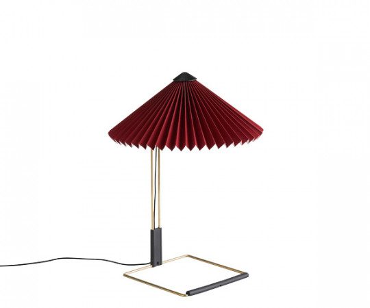 HAY Matin Bordlampe - Small - Oxide Rød