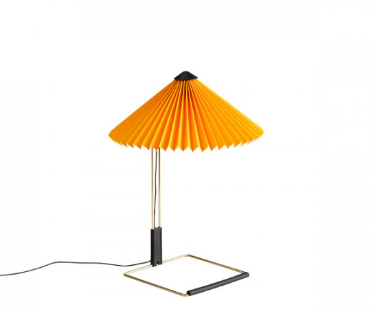 HAY Matin Bordlampe - Small - Gul