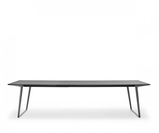 Mdf Italia Axy Udtræksbord - 100x270/320 cm. - Fenix Top