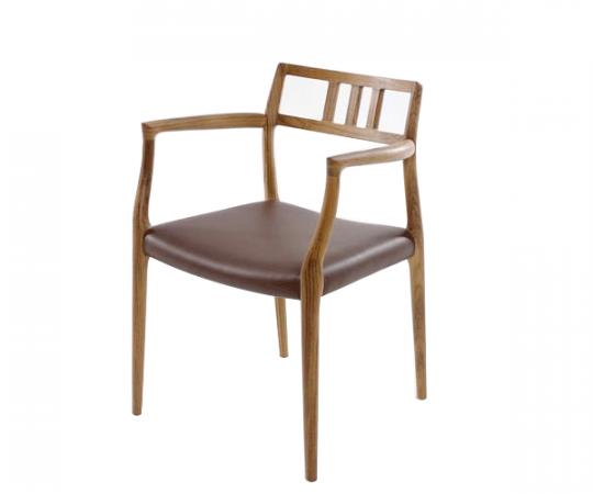 JL møller no 64 stol Valnød
