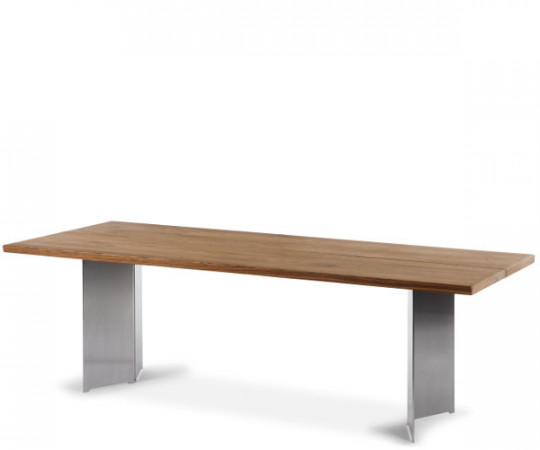 Mølballe Sevilla Spisebord med Vinkel Ben og 2 tillægsplader