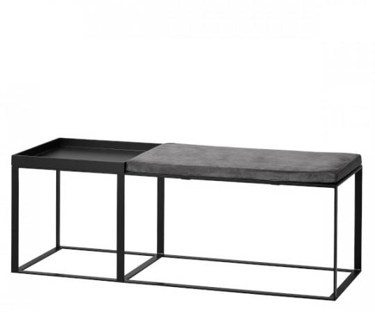 mojoo tend bænk med bord og hynde