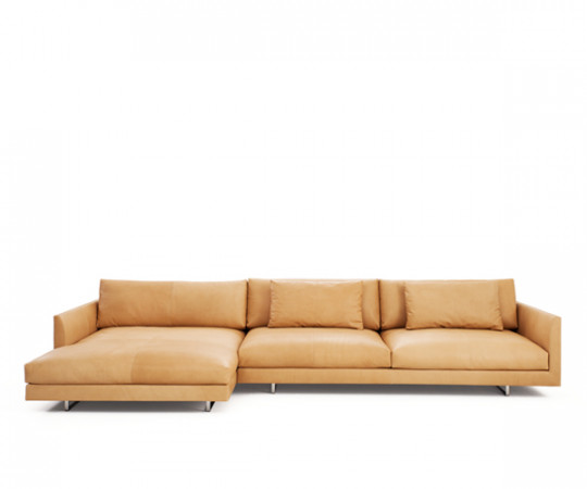 Montis Axel XL Læder Sofa m. Chaiselong